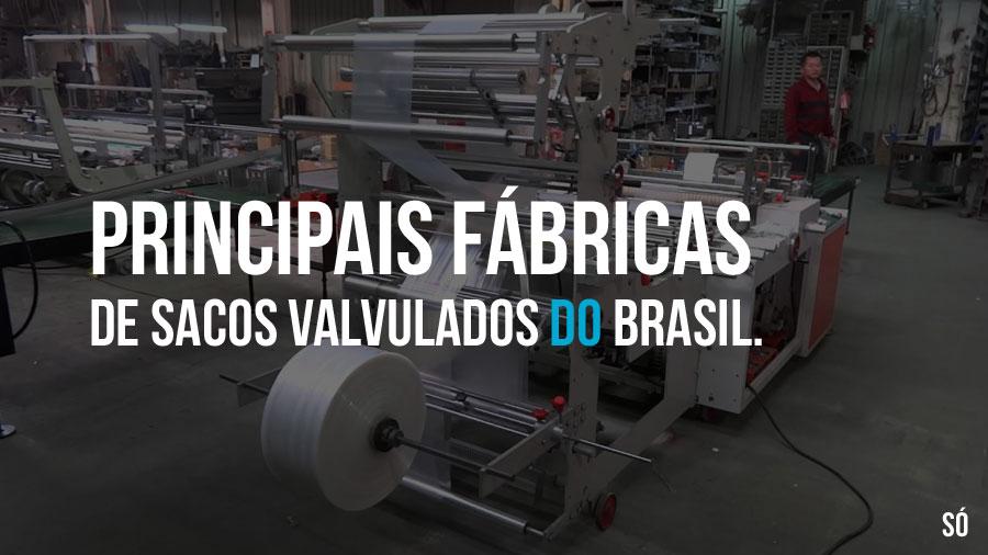 Principais fábricas de sacos valvulados do Brasil