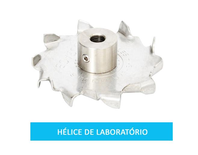 Hélice de laboratório tipo cowles