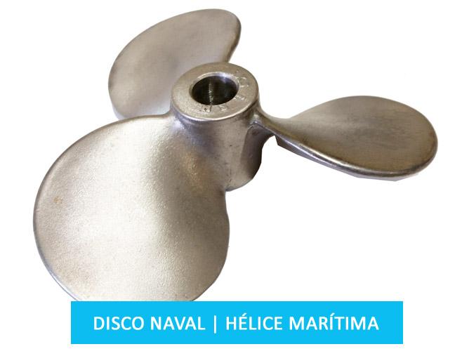 Hélice agitadora marítima para uso industrial