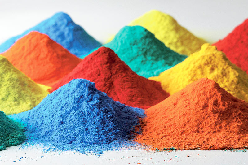 Pigmentos Fábricas