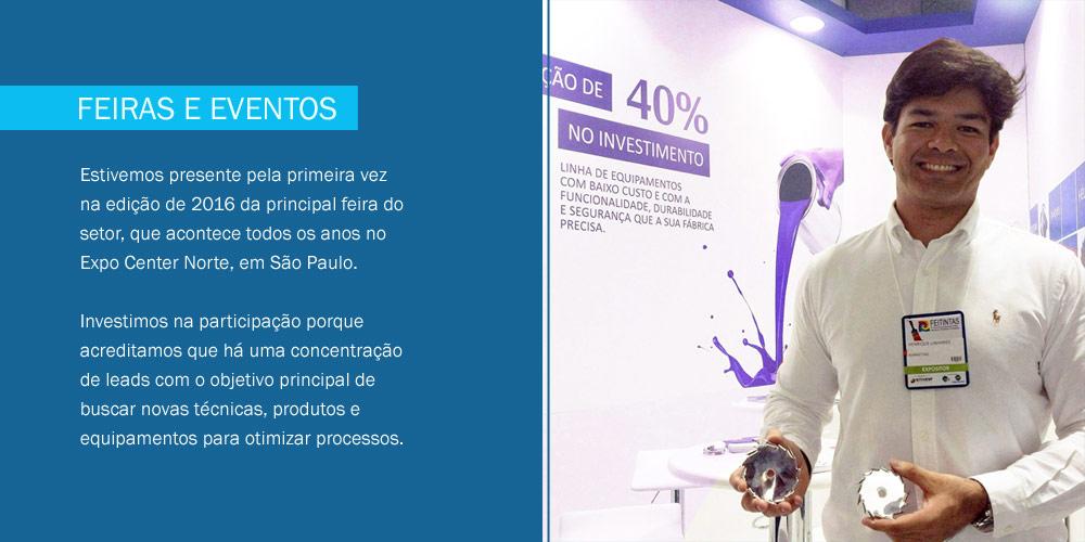 Feiras e Eventos que participamos no Brasil e Mundo