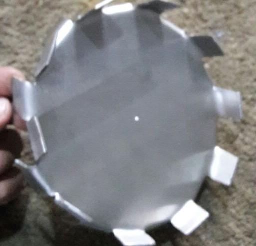 Disco dispersor para tintas mal fabricados