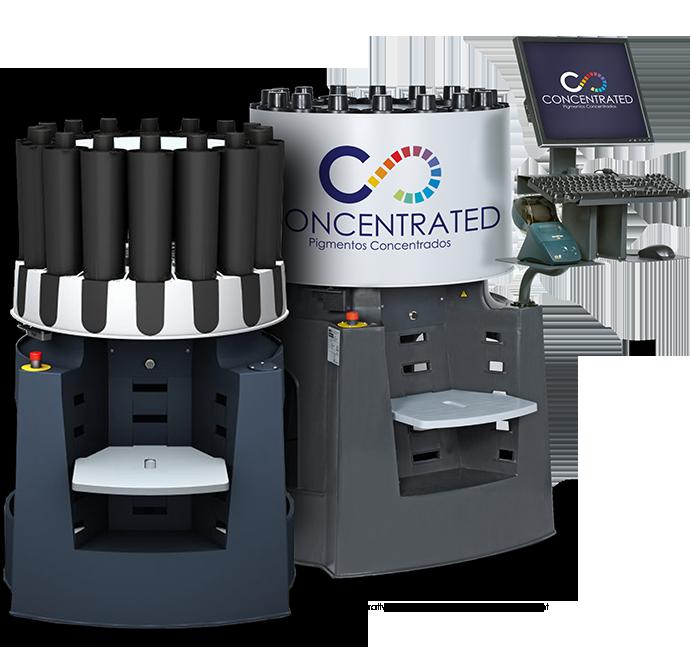 Concentrated Máquinas Tintométricas