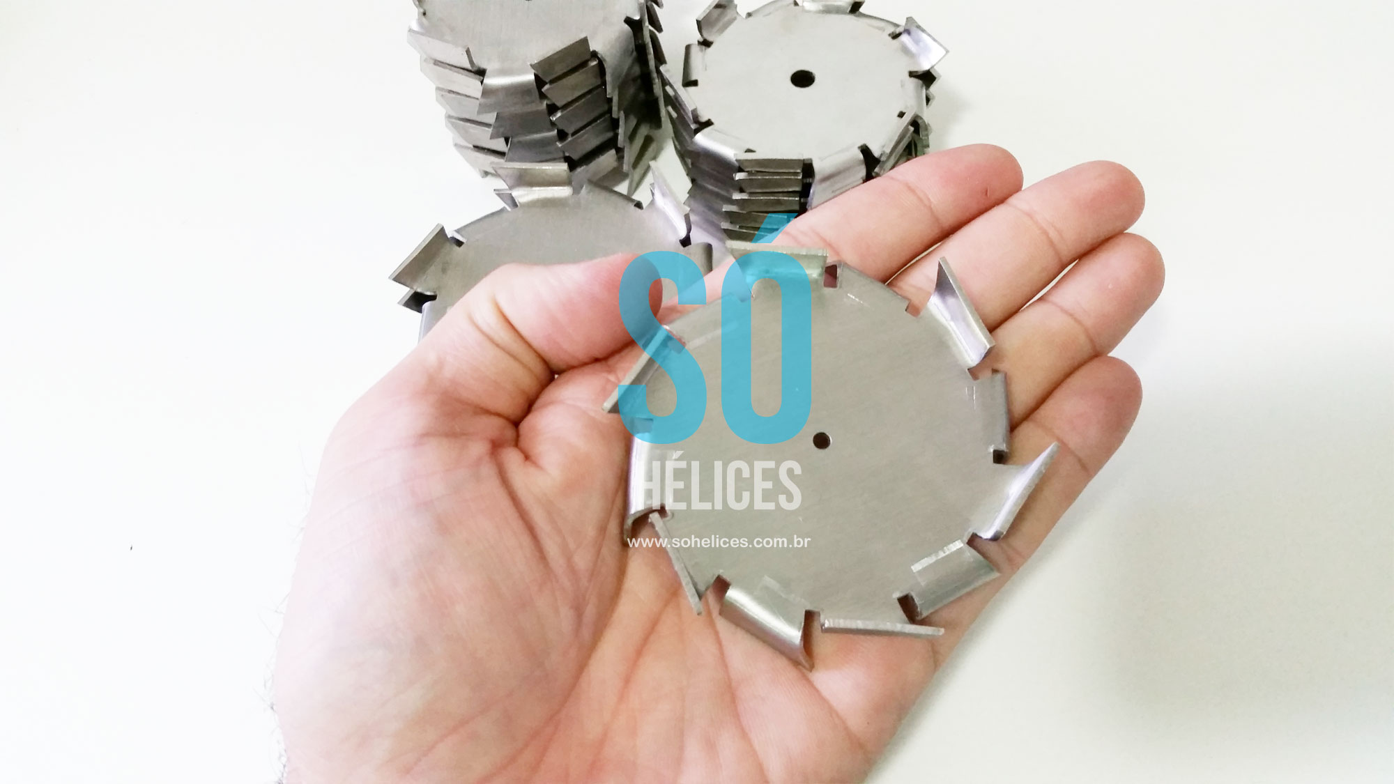 Hélice de laboratório com 60mm