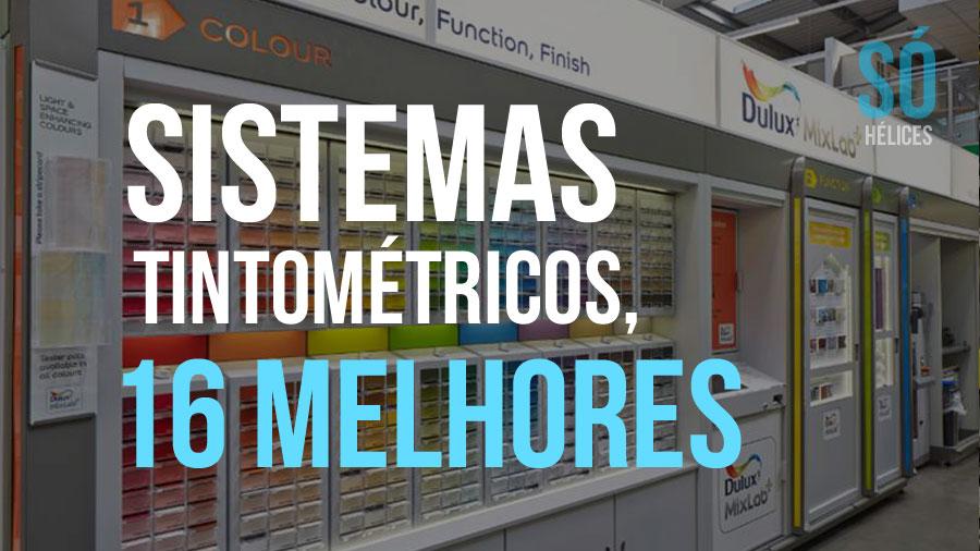 16 melhores sistemas tintométricos do Brasil