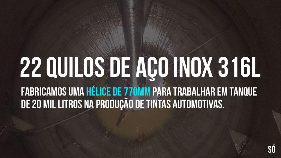 O maior disco dispersor já fabricado no Brasil