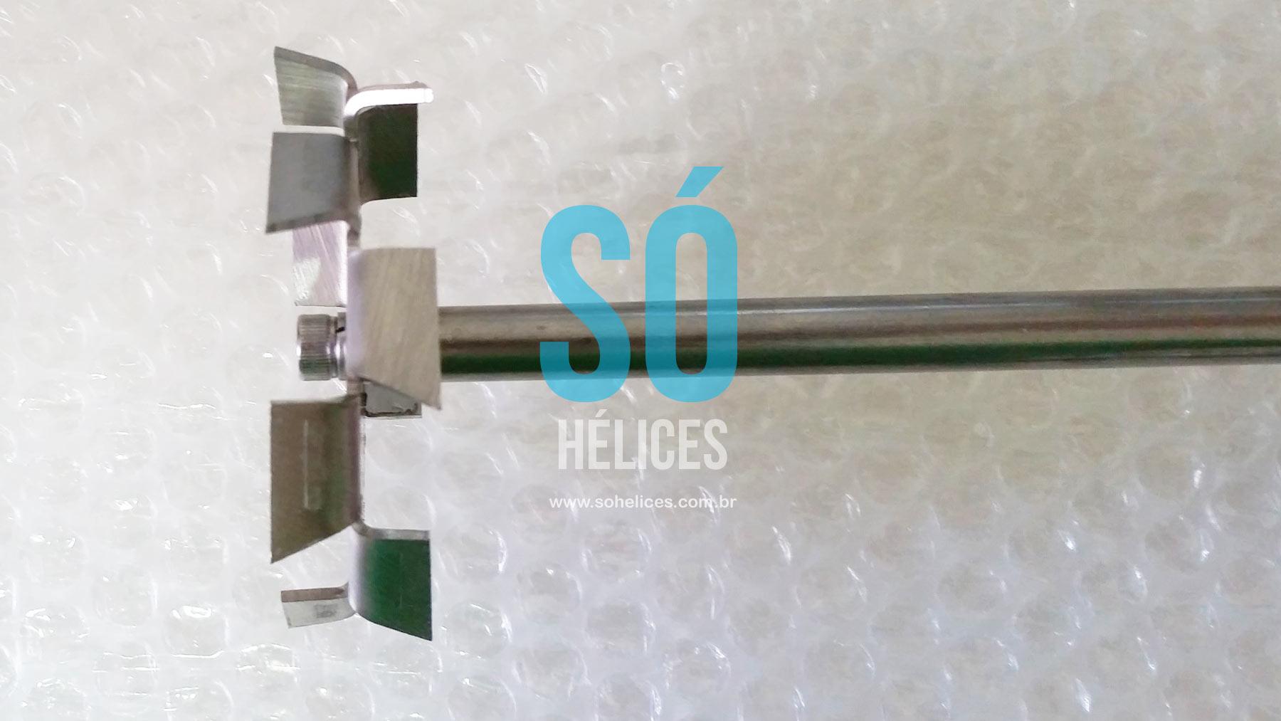 Dispersor de laboratório, alta viscosidade e densidade.