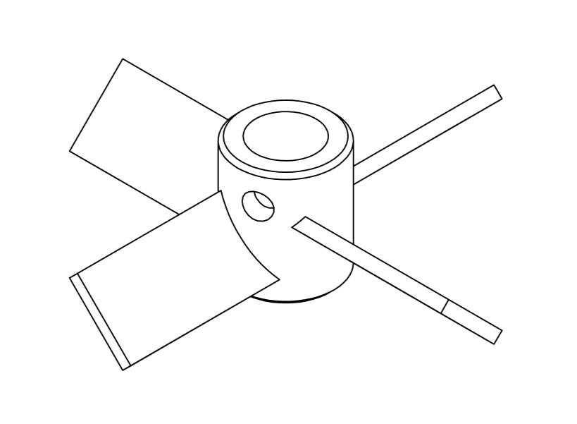 Misturador Pitch Blade 2