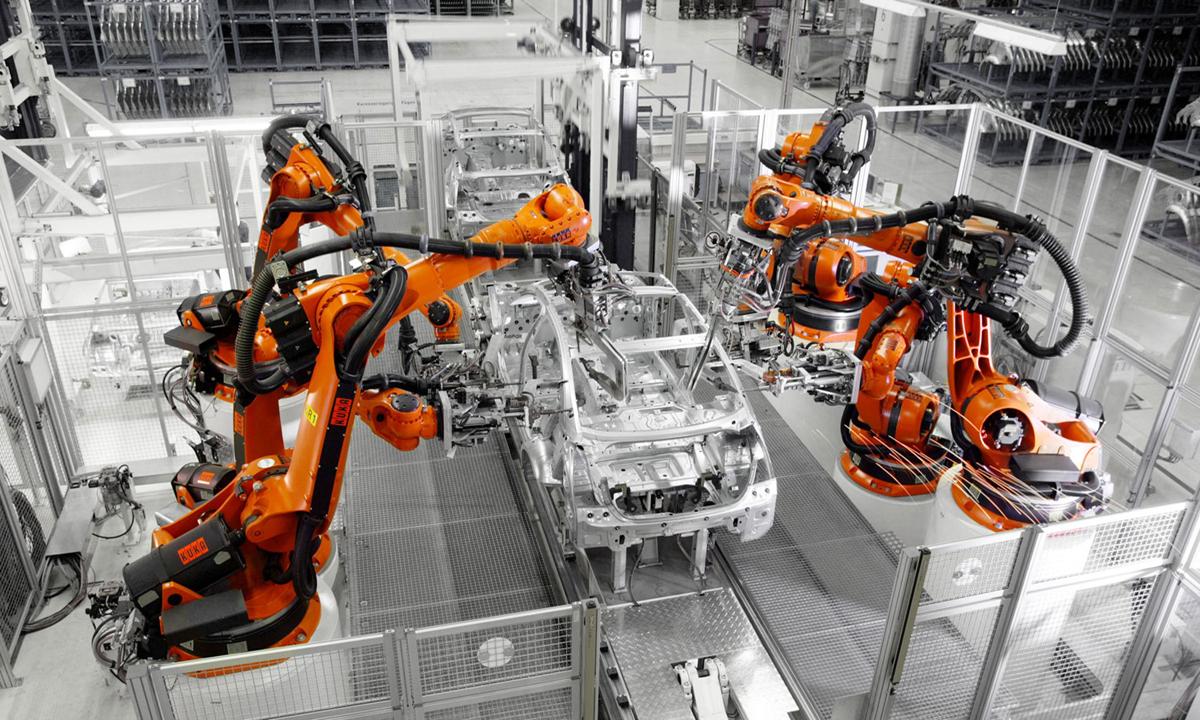 Indústria na era 4.0 e totalmente automatizada