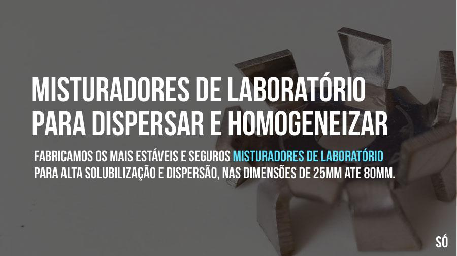 Misturadores de laboratório