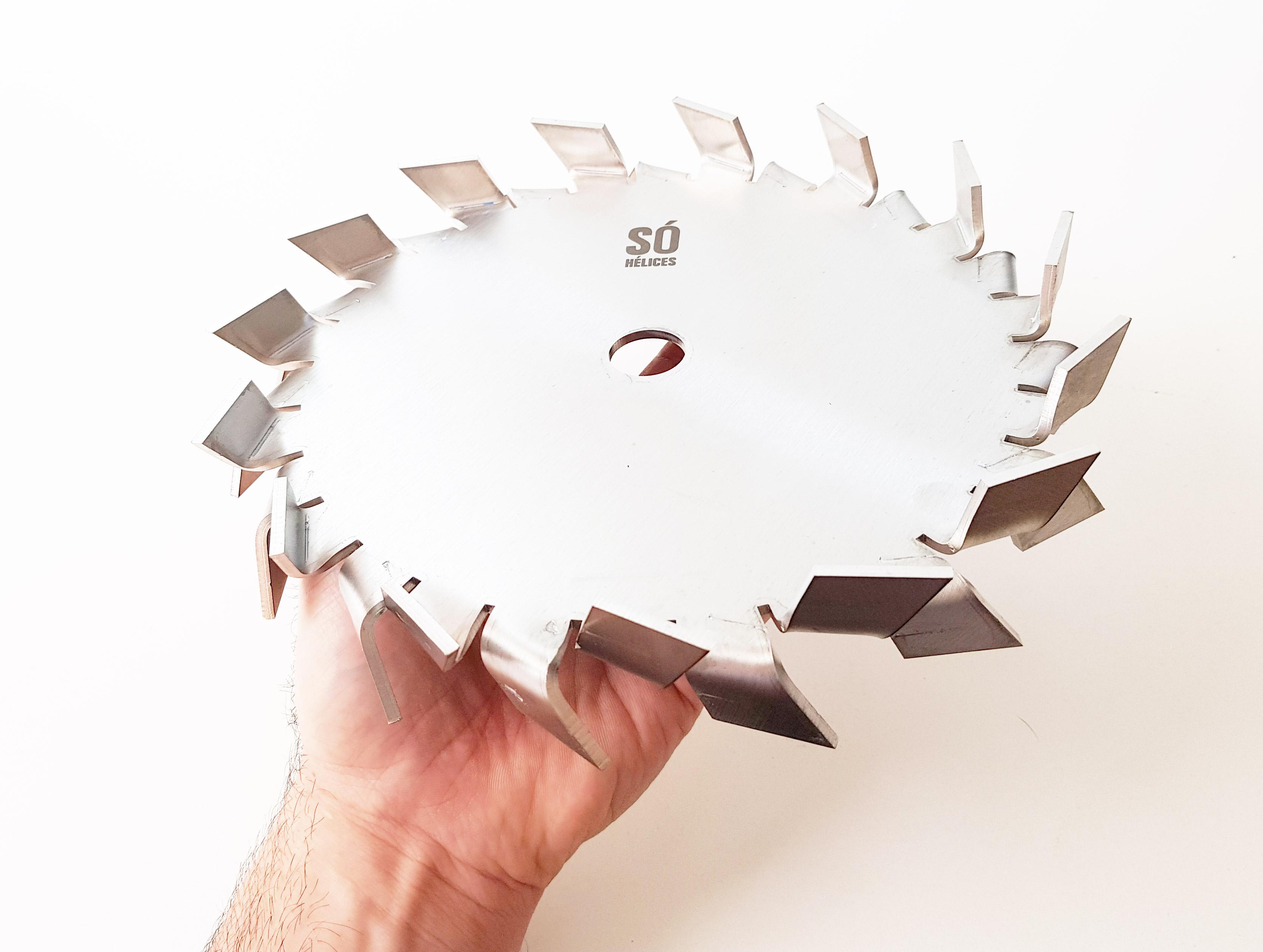 Disco dispersor para tintas e texturas