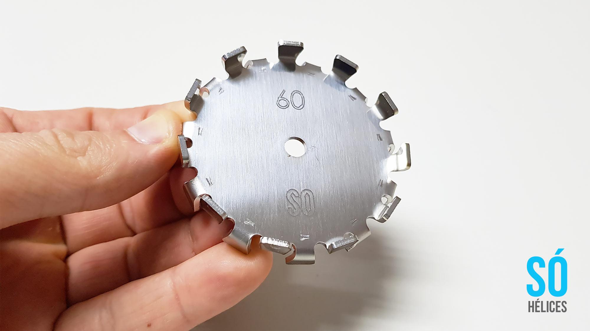 Misturador de Laboratório com hélice centrífuga 2
