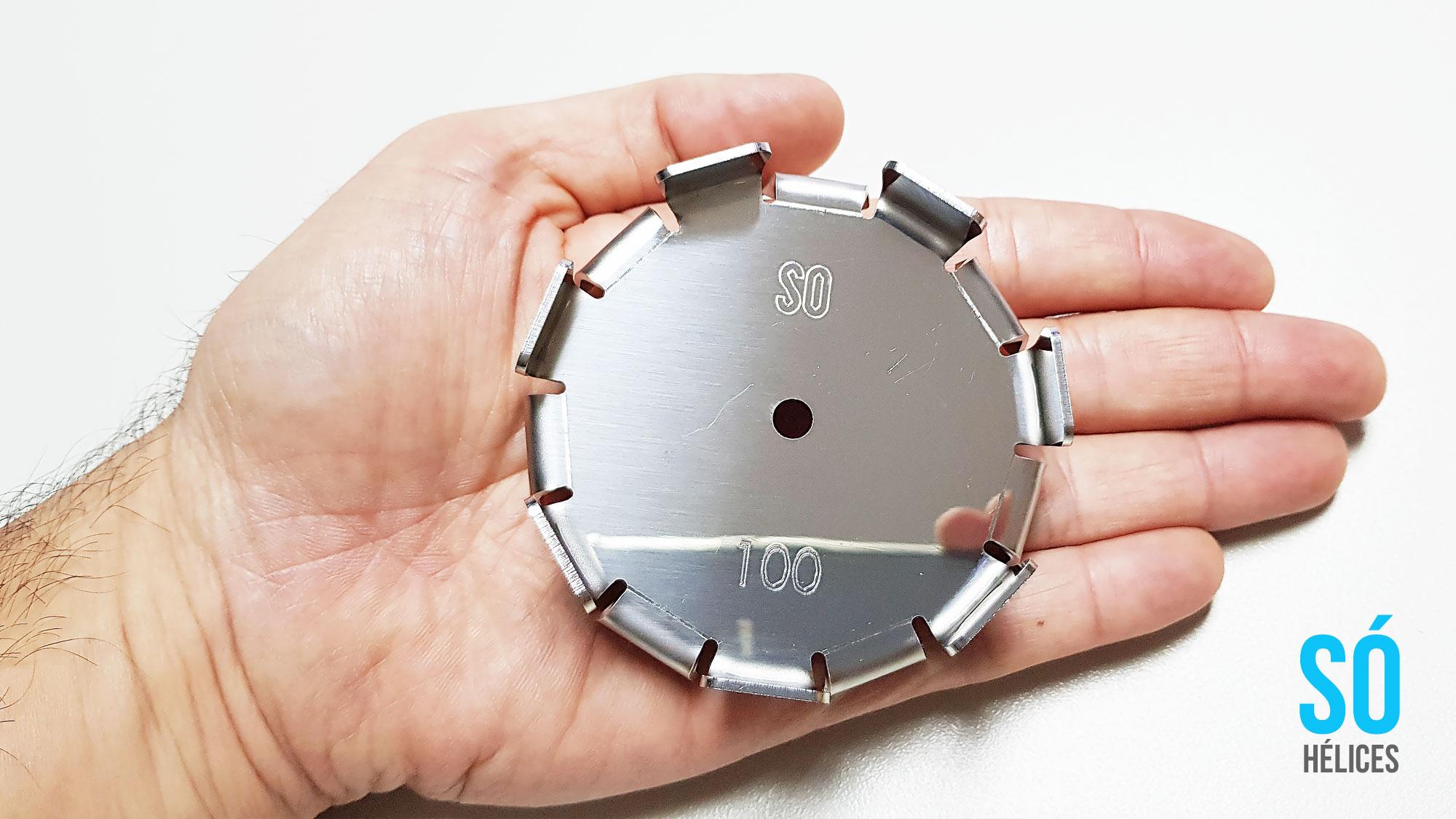 Misturador de Laboratório com hélice centrífuga aço inox