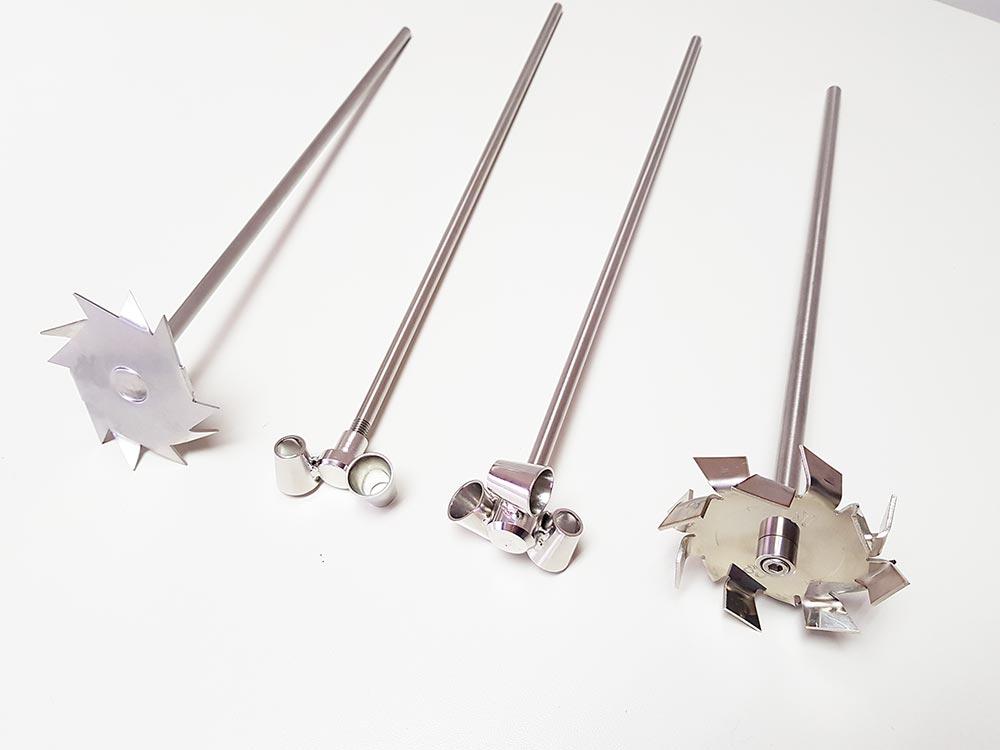 Modelos especiais de agitadores mecânicos para laboratório