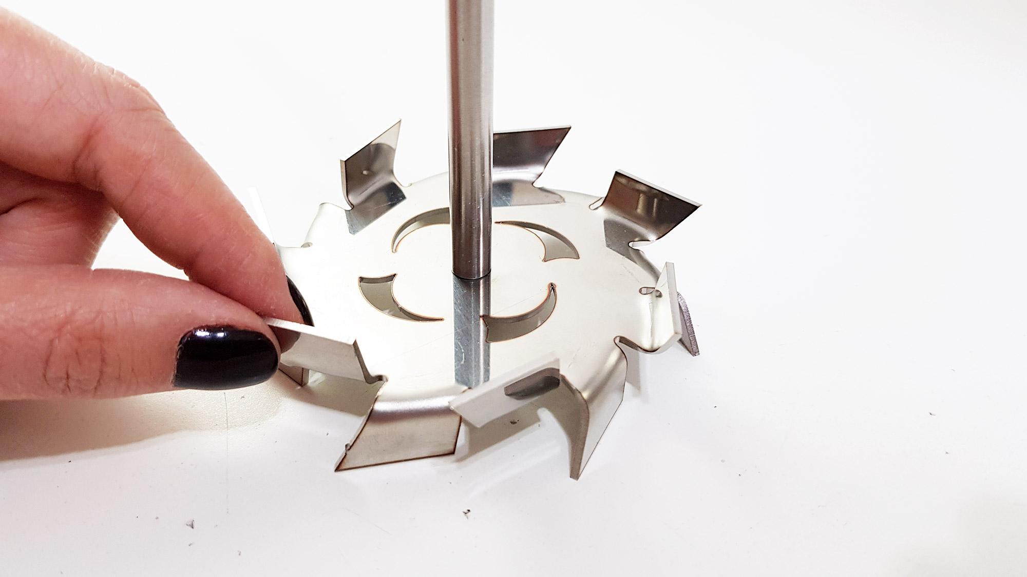 Agitador mecânico de bancada para laboratório 6