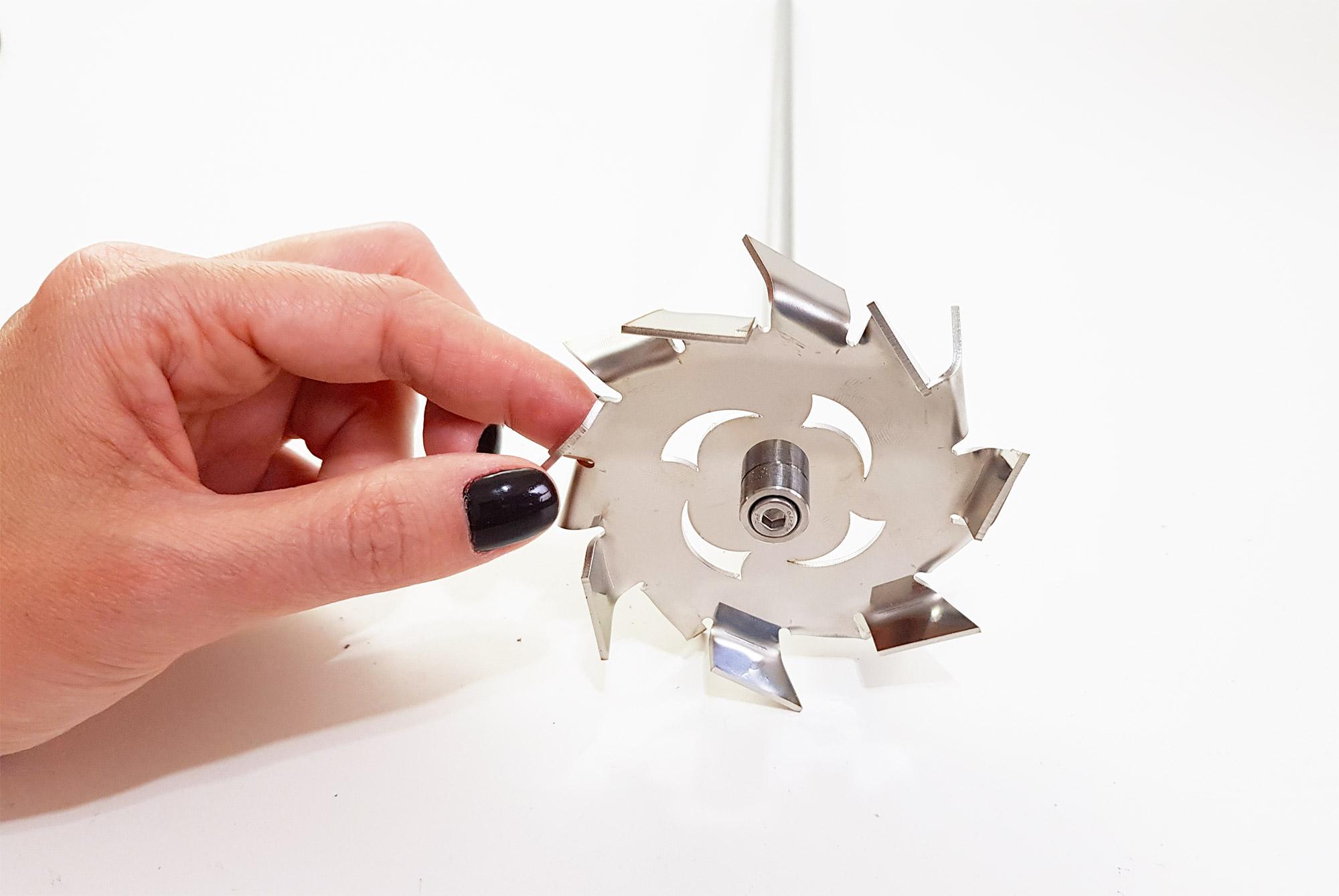 Agitador mecânico de bancada para laboratório semi circular