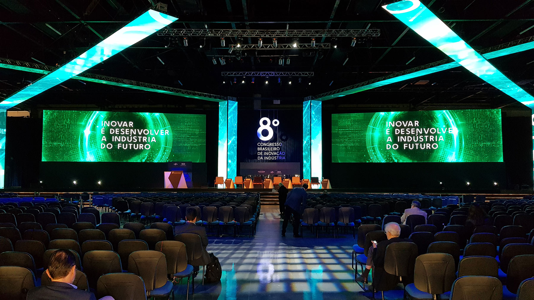 Abertura do 8º Congresso Brasileiro de Inovação da Indústria