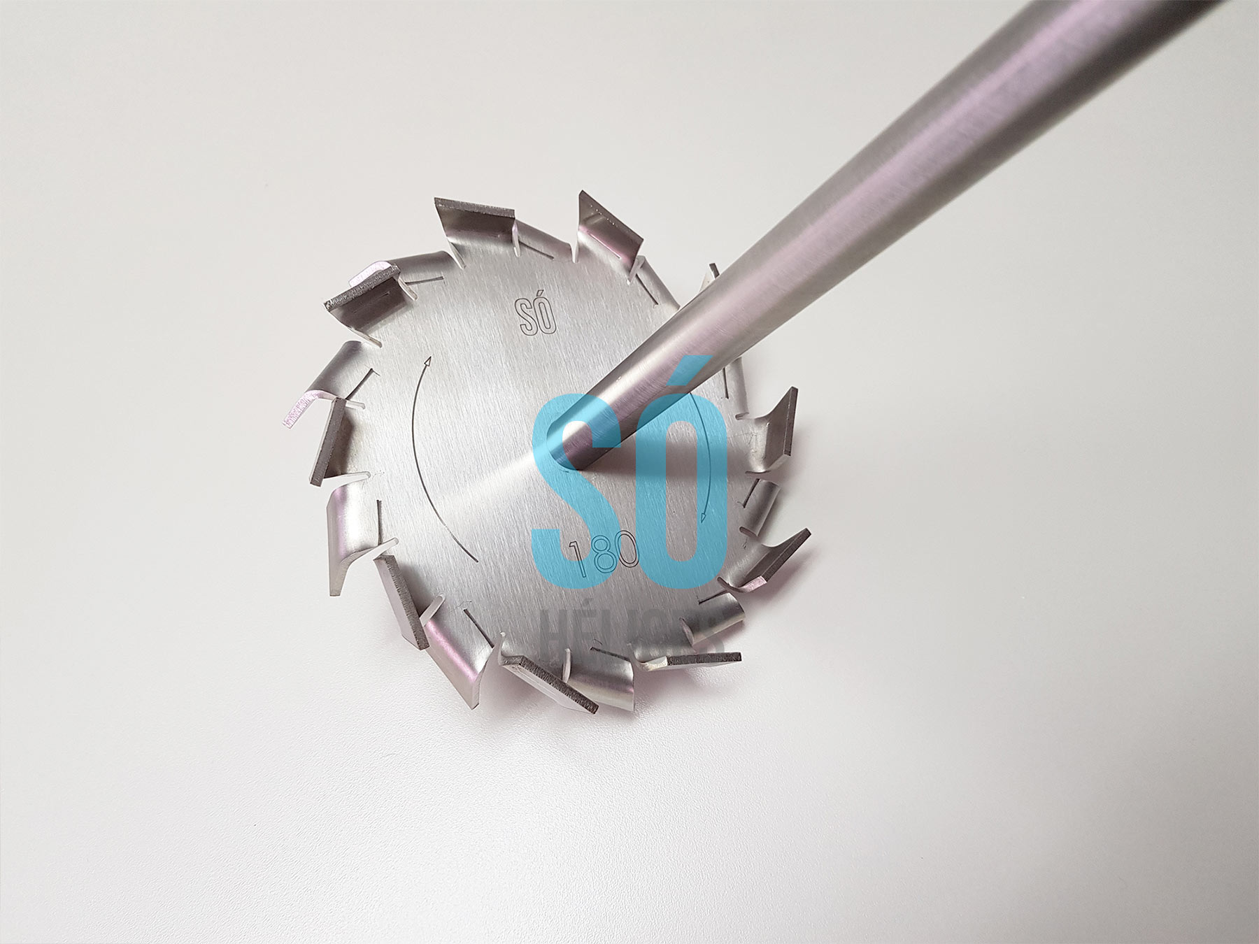 Misturador de fertilizantes para tambores de metal