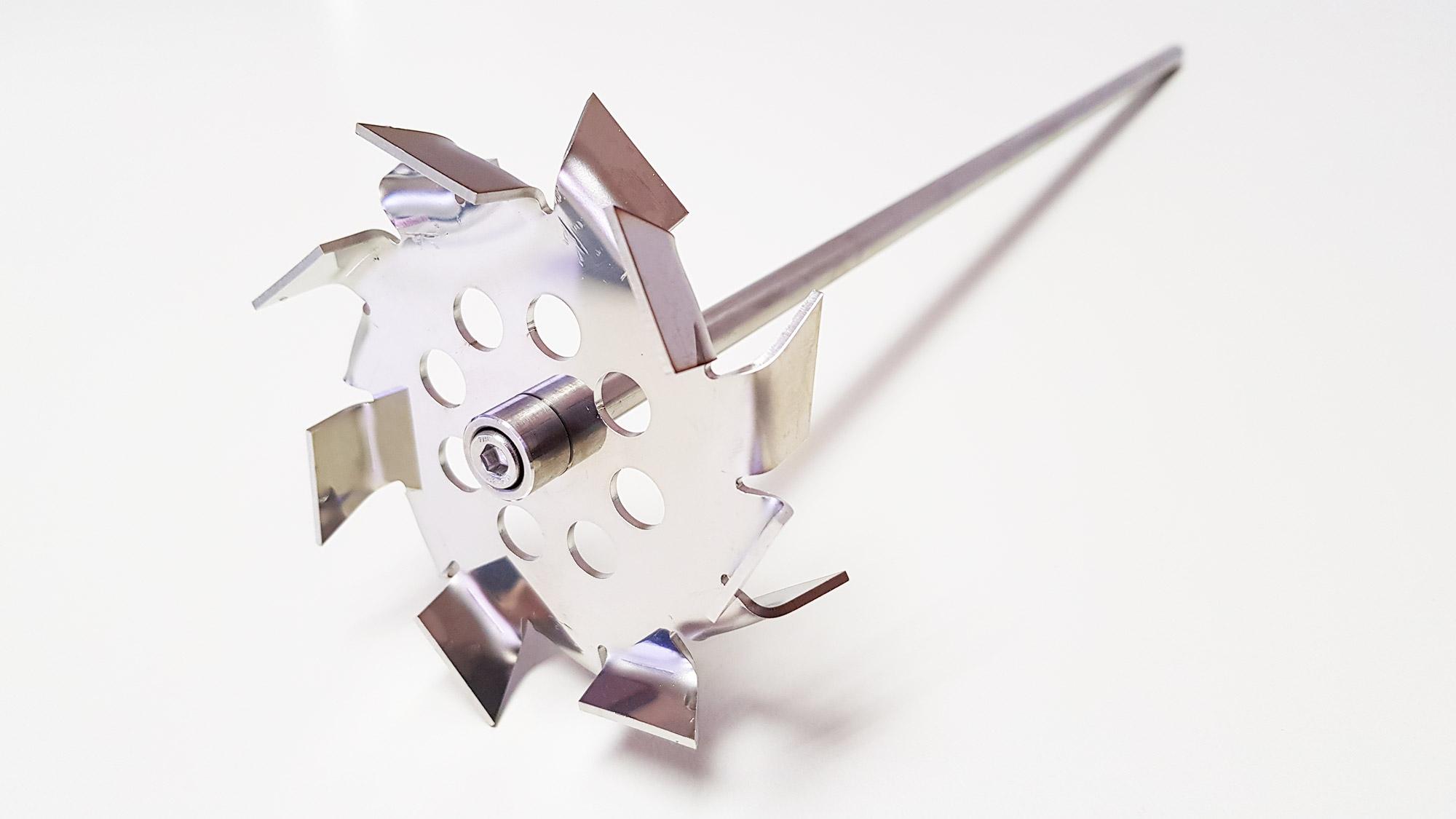 Agitador de laboratório para aumentar a recirculação