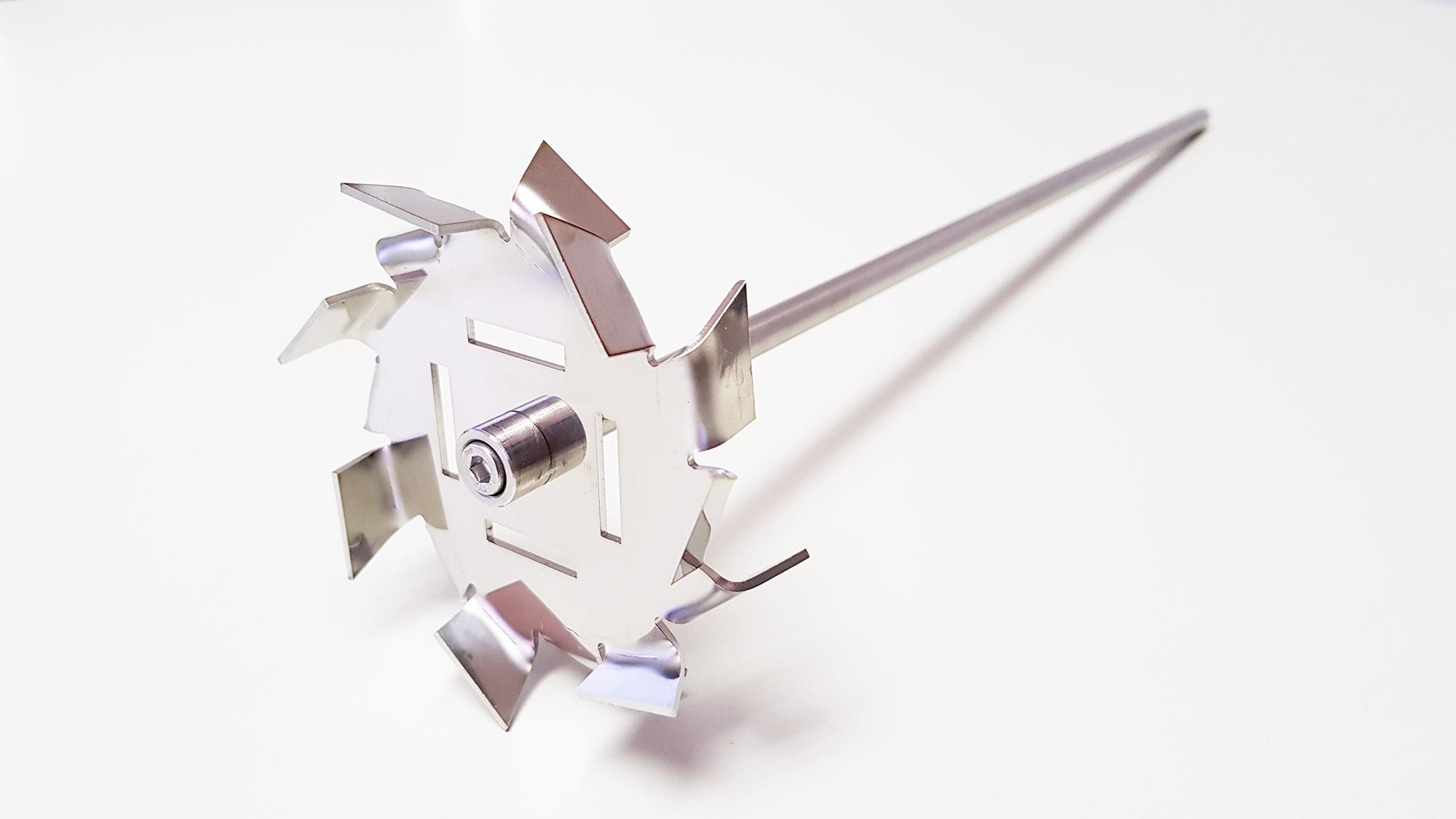 Agitador de laboratório para aumentar a recirculação 3