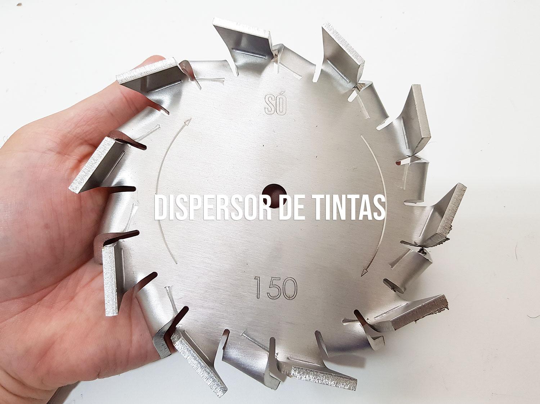 Disco dispersor de tintas