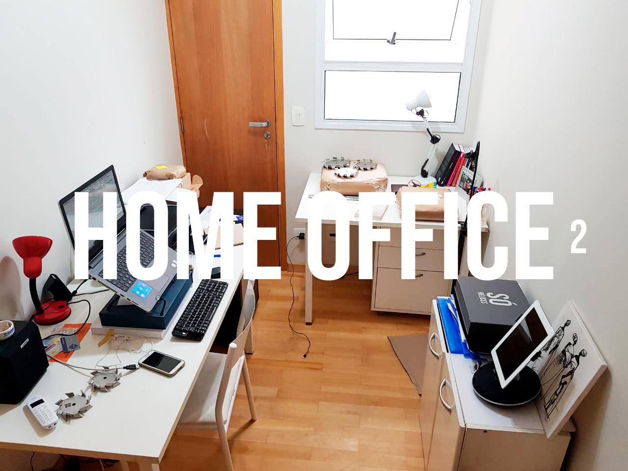 Home Office 2 da Só Hélices para o pessoal da Supply Chain.