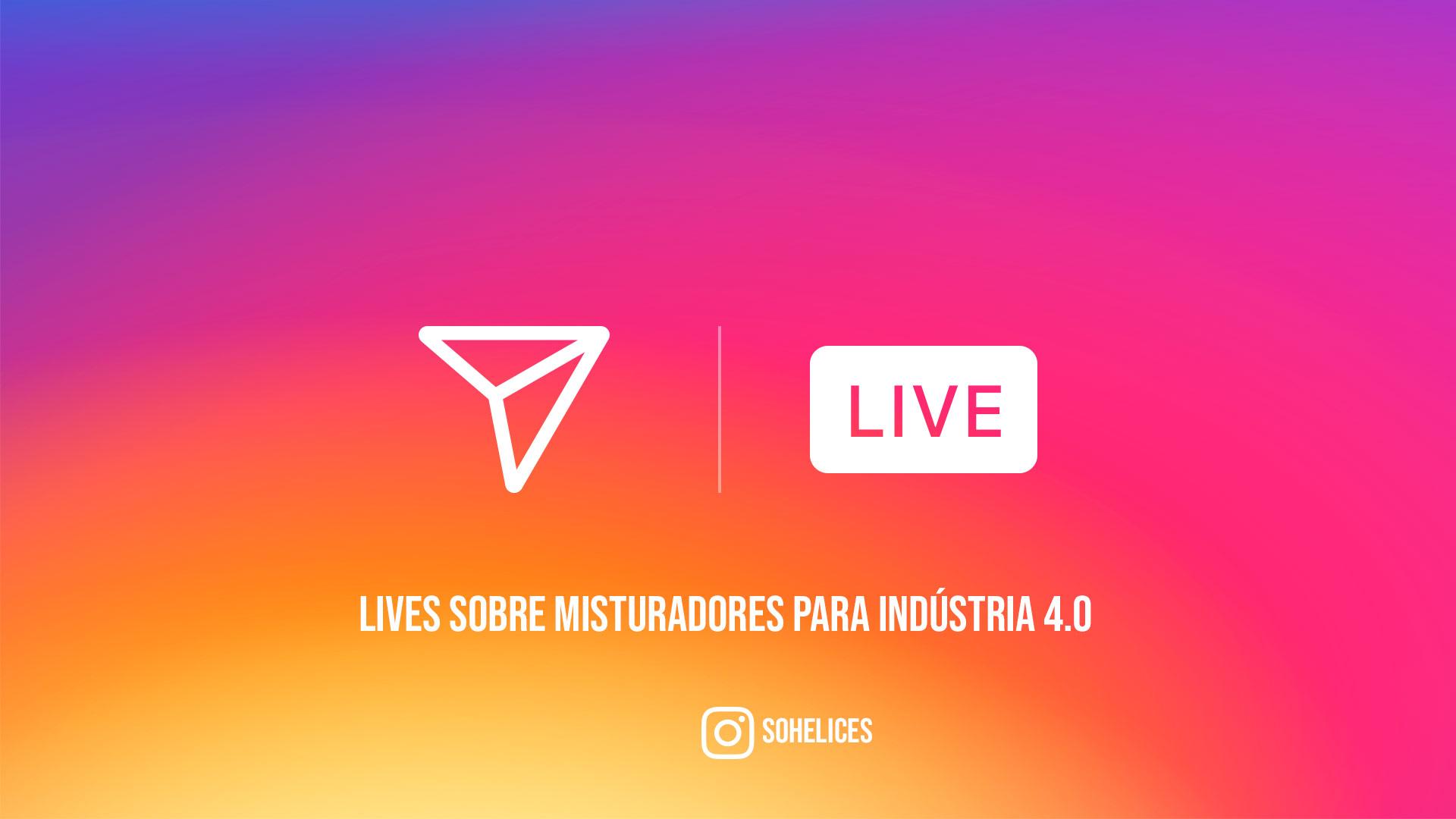 Live sobre misturadores para a indústria 4.0