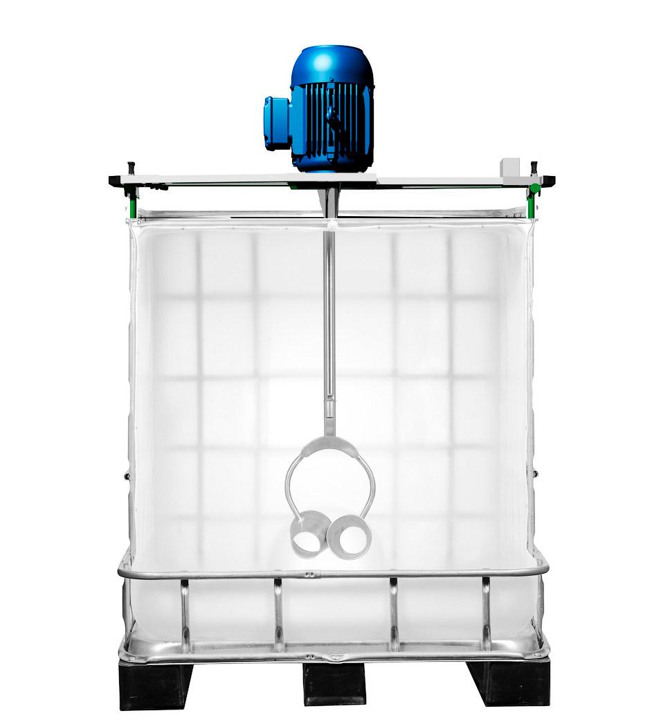 Misturador IBC Container 1000 Litros