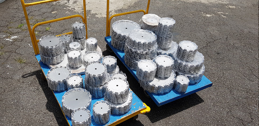 Exportação de misturadores industriais