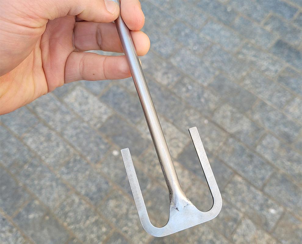 Hélice âncora para agitadores de laboratório