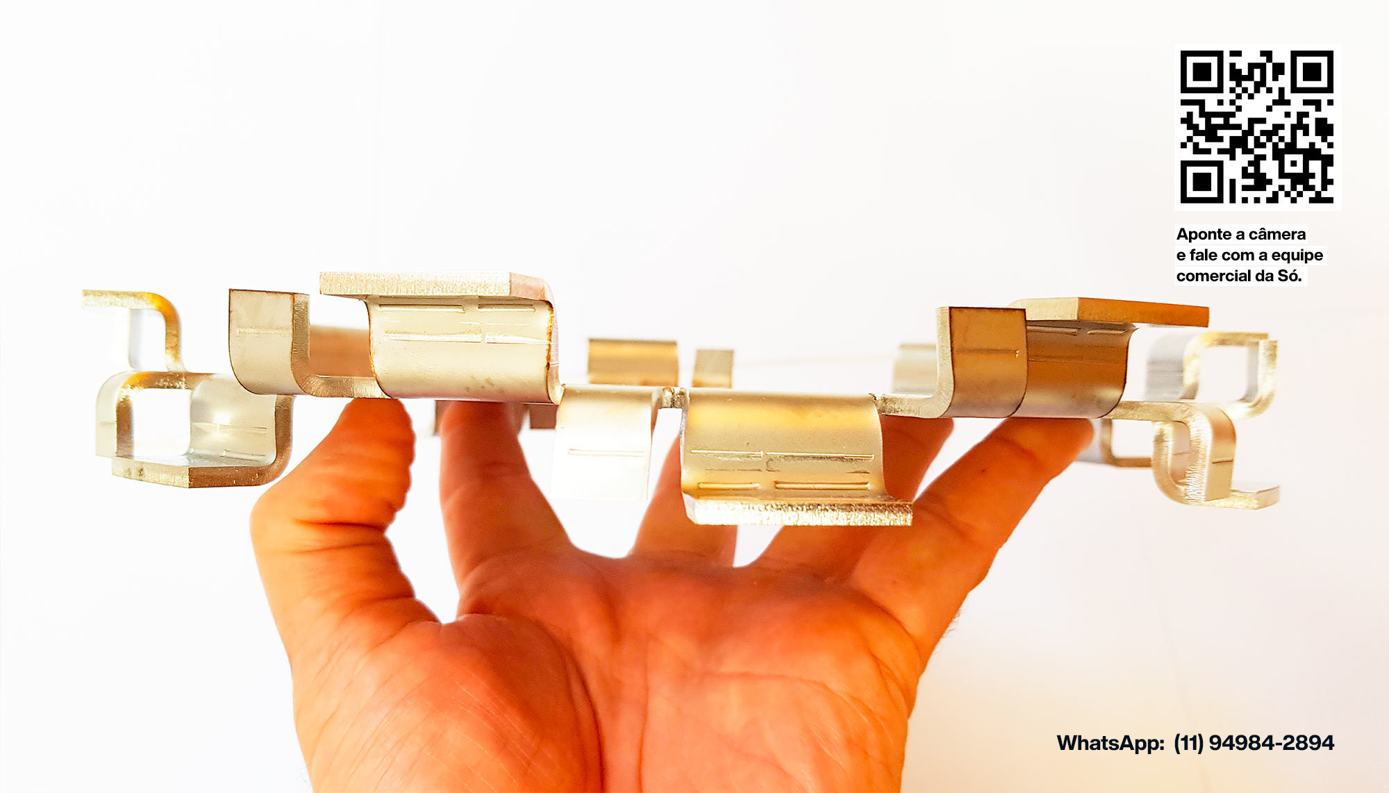 Hélice Italiana Alpini em aço inox para cosméticos